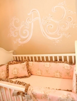 quarto bebe menina princesa