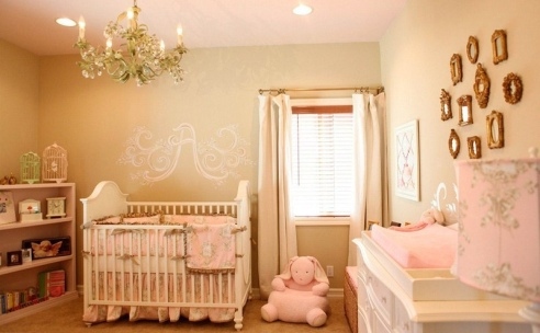 quarto bebe princesa