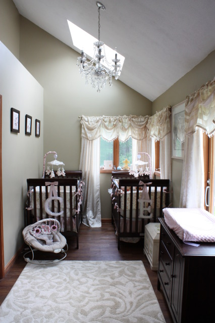 Twin Baby Girls Nursery Ideas