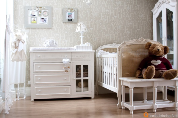 design interiores decoracao quarto bebe : design interiores decoracao quarto bebe:quarto bebe bege letras