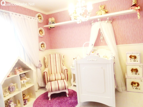 quarto bebe dossel
