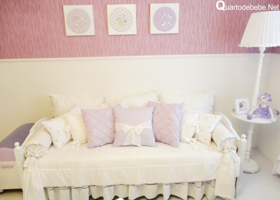 quarto bebe menina provencal