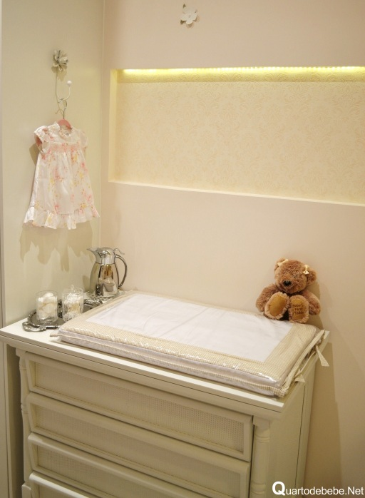 quarto bebe decorado princesa clean