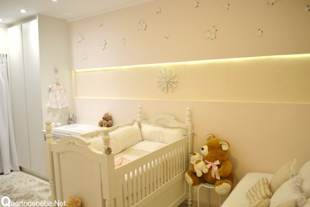 quarto bebe princesa clean