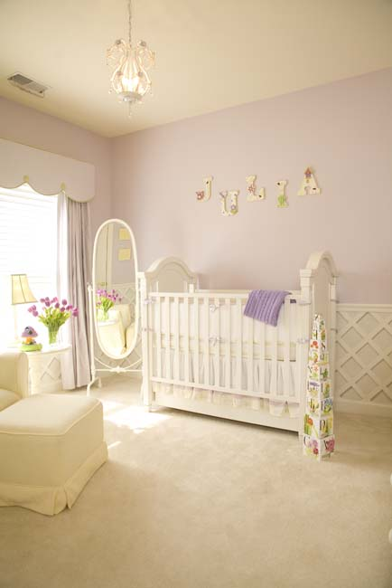 decoracao quarto bebe lilas julia