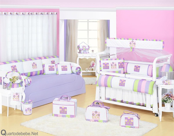 Quarto De Bebe Rosa E Lilas 12 Pictures to pin on Pinterest ~ Quarto Rosa Com Verde
