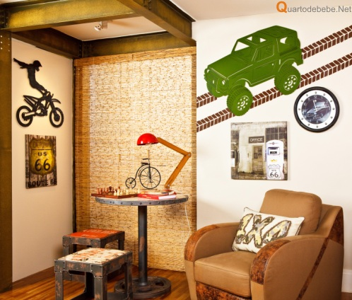 quarto off road camuflado