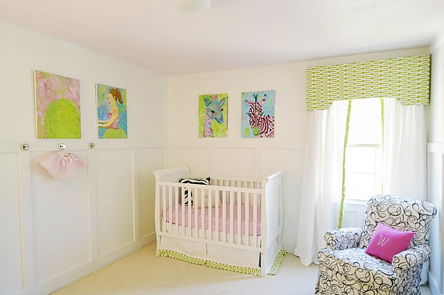 quarto bebe decorado arte